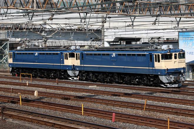 【JR東】上野東京ラインでEF65重連試運転