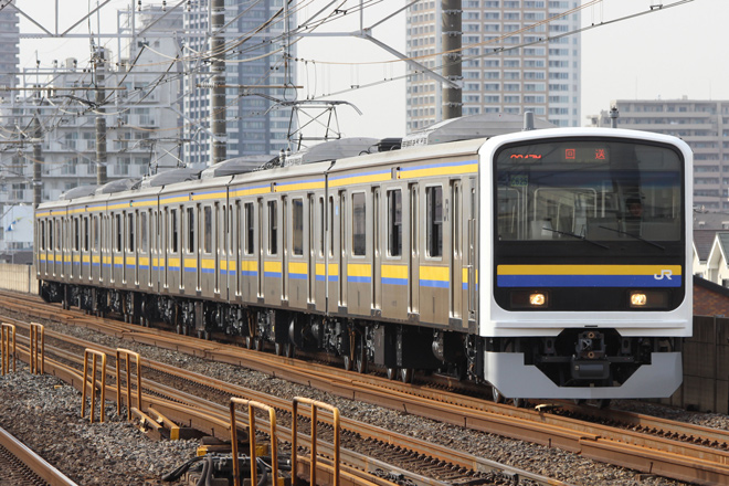 【JR東】209系マリC625編成大宮総合車両センター出場