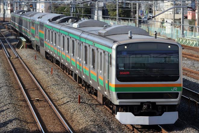 【JR東】E231系ヤマU513編成 東京総合車両センター入場