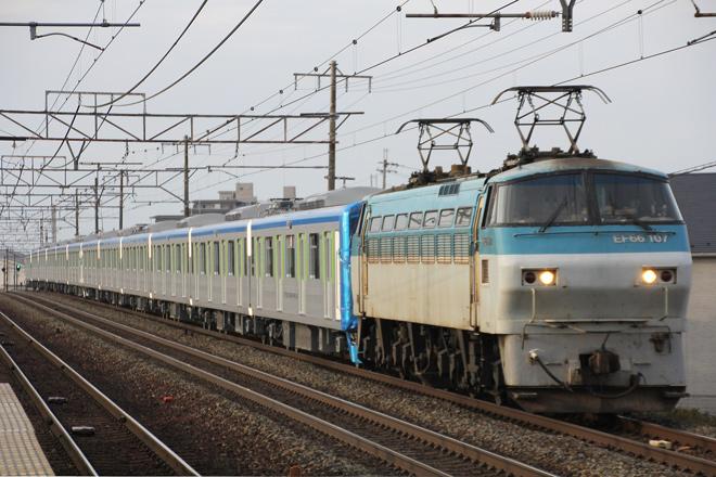 【東武】60000系61615F+61616F甲種輸送
