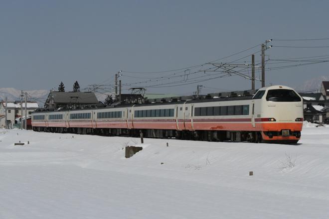 【JR東】さよなら快速あいづライナー485系運転