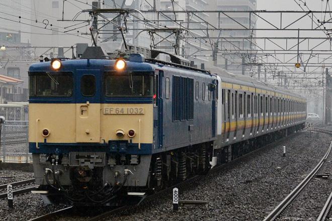 【JR東】E233系8000番台ナハN14編成 配給輸送