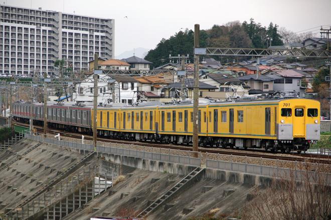 【相鉄】7000系5両モヤ牽引でかしわ台へ回送