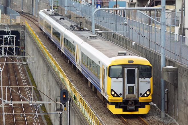 【JR東】E257系NB-03編成使用の山梨富士3・4号