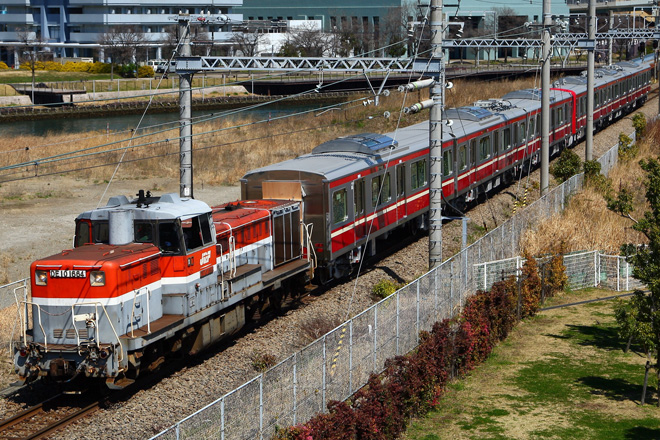 【京急】新1000形1361編成 甲種輸送