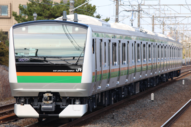 【JR東】E233系コツE-72編成 性能確認試運転