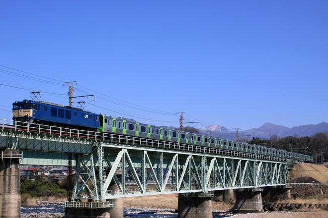 【JR東】E235系トウ01編成 大崎へ配給輸送