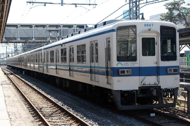 【東武】野田線8191F+8567F 廃車回送