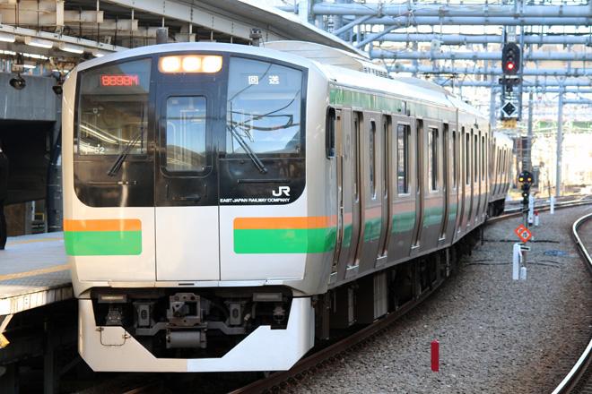 【JR東】E217系コツF-52編成 東京総合車両センター入場