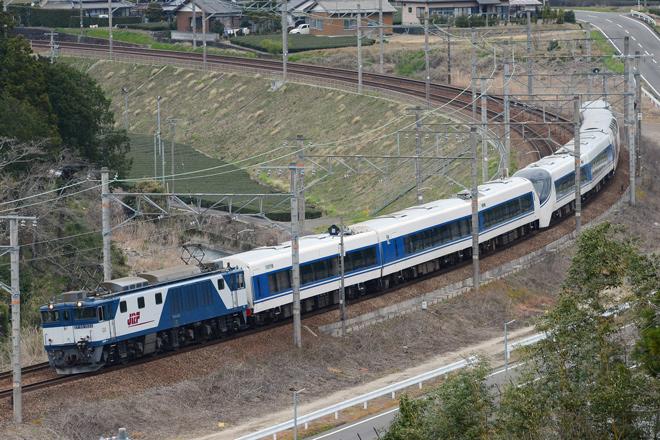 【富士急】8500系(元JR371系)甲種輸送