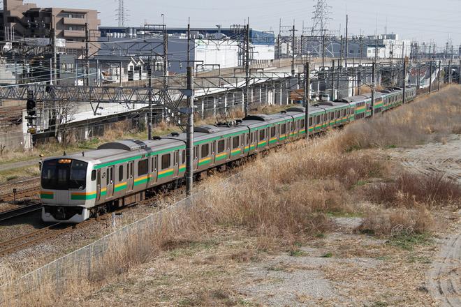 【JR東】E217系コツF-02編成 東京総合車両センター入場