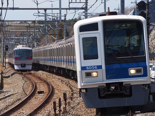 【西武】6000系6156F 性能確認試運転