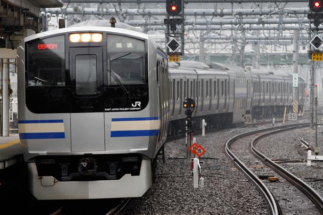 【JR東】E217系クラY-36編成 東京総合車両センター出場