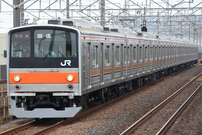 【JR東】205系ケヨM25編成大宮総合車両センター出場
