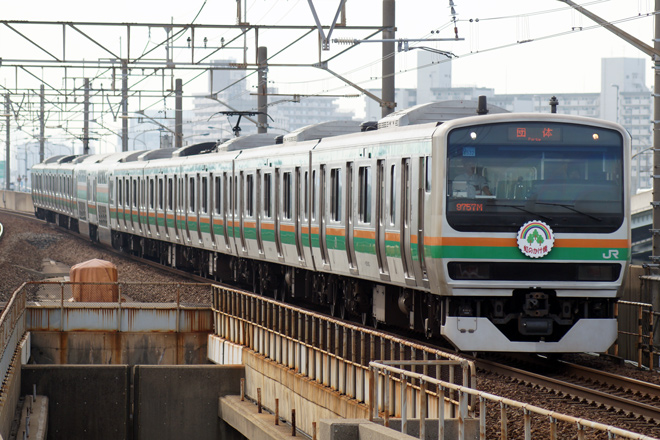 【JR東】E231系U532編成使用の虹の架け橋号