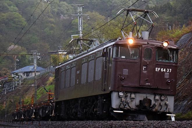 【JR東】EF64-37牽引 南松本工臨