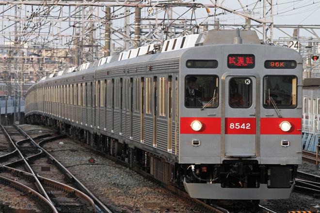 【東急】8642F長津田工場 出場試運転