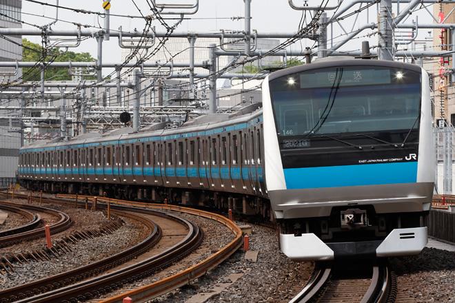 【JR東】E233系サイ146編成 東京総合車両センター入場