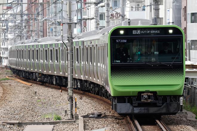 【JR東】E235系トウ01編成 東京総合車両センターへ返却