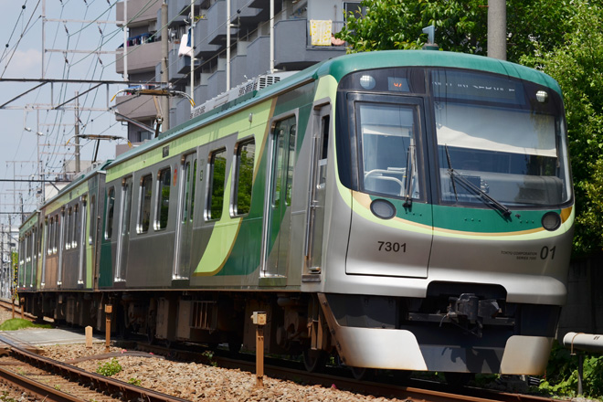 【東急】7101F雪が谷検車区へ回送