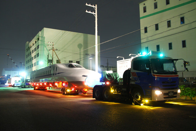 【JR海】N700系G21編成陸送