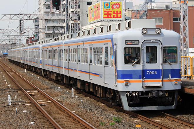 【南海】オール7000系による8両運用
