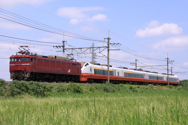 【JR東】E751系アオA103編成配給輸送