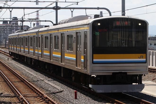 【JR東】205系ナハT12編成大宮総合車両センター入場