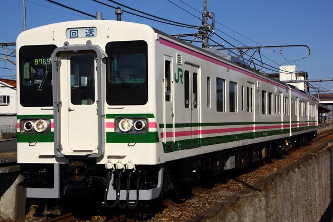 【JR東】107系タカR5編成大宮総合車両センター出場