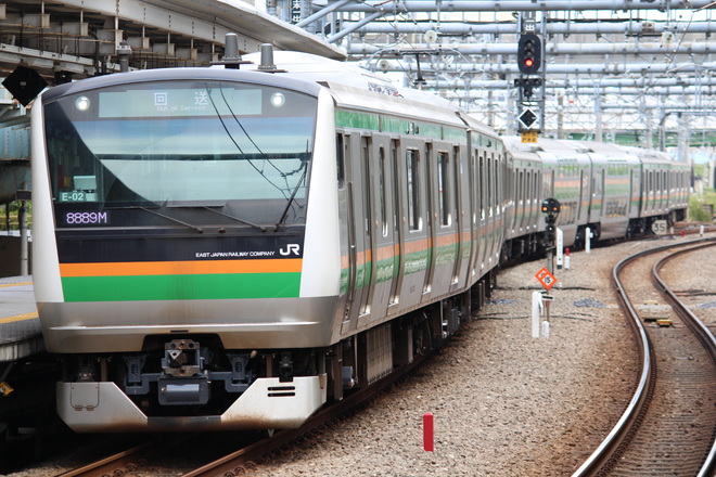 【JR東】E233系コツE-02編成東京総合車両センター出場