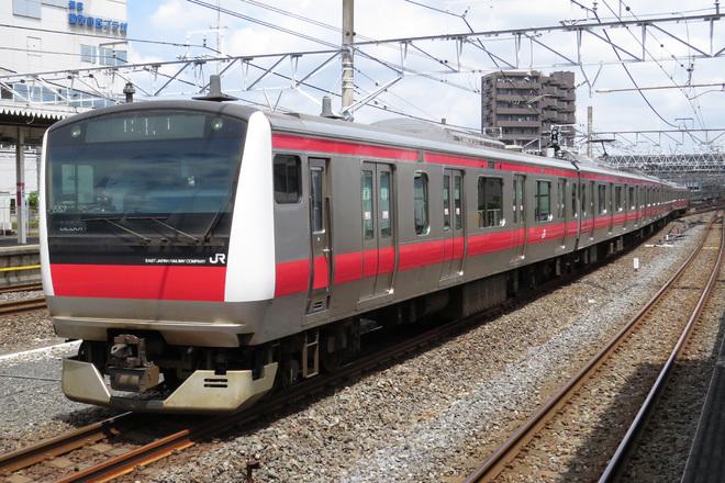 【JR東】E233系5000番台ケヨ552編成使用の乗務員訓練