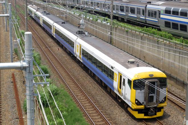 【JR東】E257系500番台NB-10編成 疎開返却