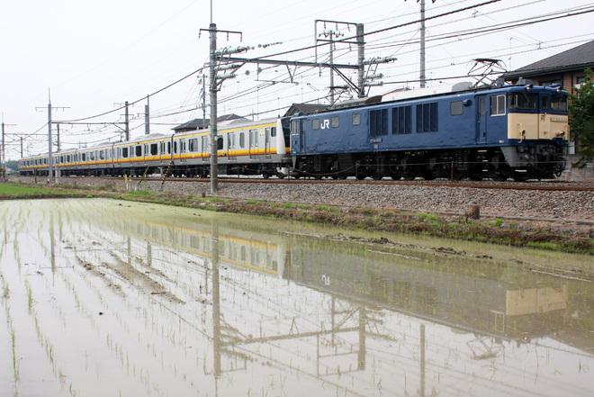 【JR東】E233系8000番台ナハN21編成 配給輸送