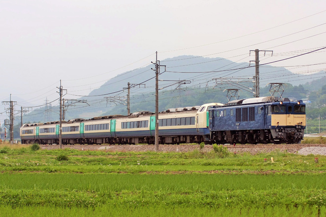 【JR東】485系R22編成廃車回送
