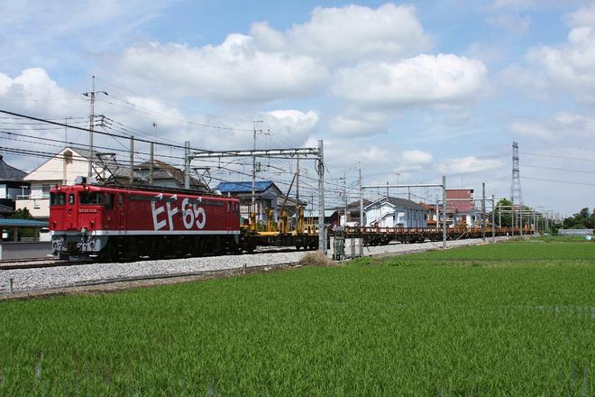【JR東】EF65-1118牽引の新津工臨返却運転