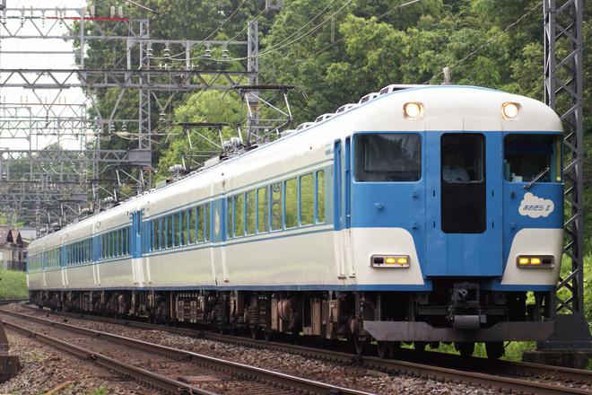 【近鉄】あおぞらⅡが京都線入線