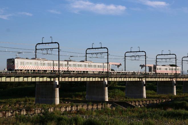 【京王】デワ600形を使用した資材輸送