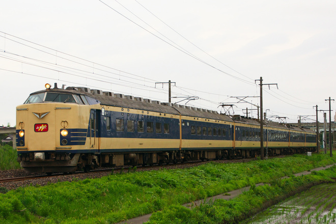 【JR東】583系みちのく号運転