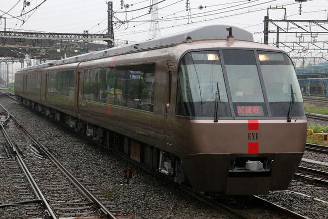 【小田急】30000形30056F(EXE) 出場試運転