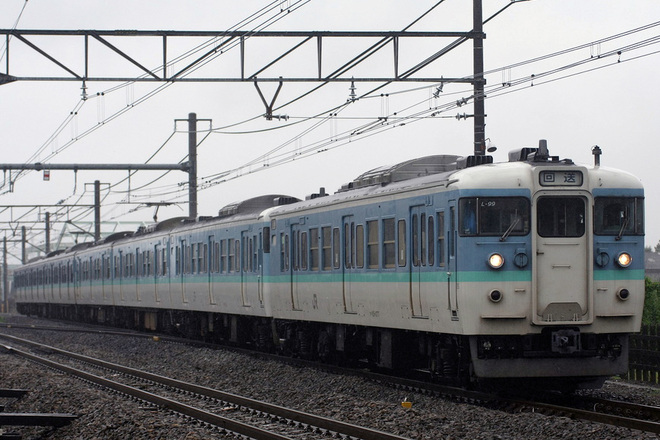 【JR東】115系ニイN35編成 大宮総合車両センター入場回送