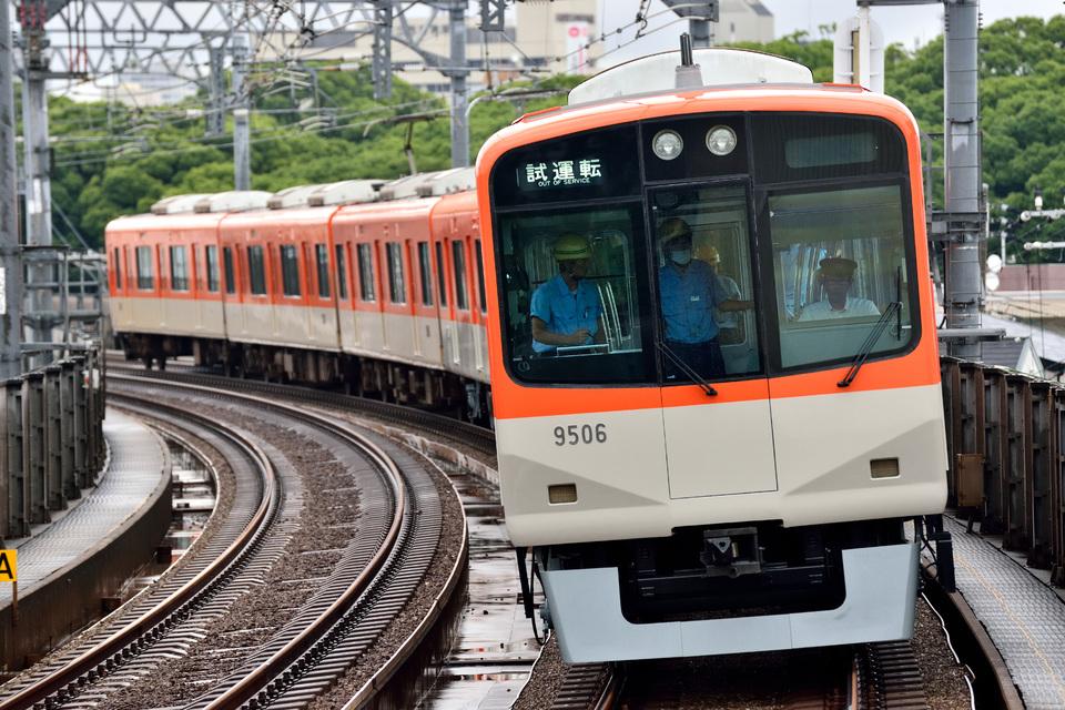 【阪神】9505F神戸方ユニット試運転