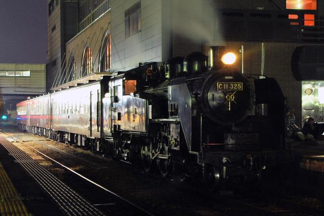 【真岡】SL夜行列車が運行