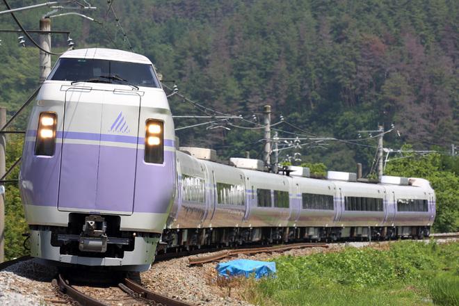 【JR東】E351系S5編成 出場試運転
