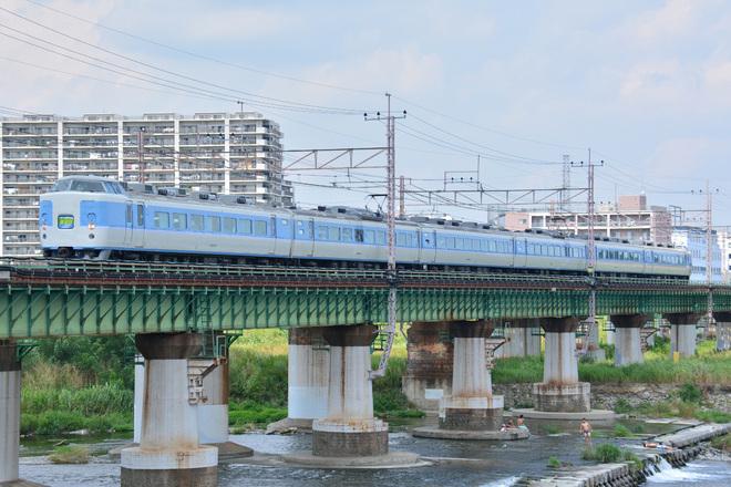 【JR東】189系M50編成による特急あずさ79号運転