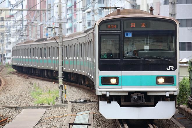 【JR東】209系1000番台マト81編成東京総合車両センター入場
