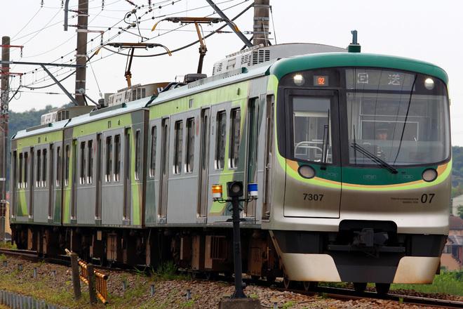 【東急】7000系7107F入場回送