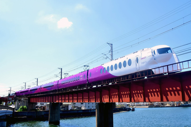 【南海】ありがとう企画 『Peach× ラピート  ハッピーライナー』 で和歌山港へ行こう!