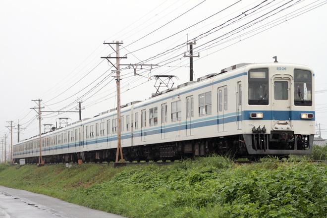 【東武】8000系8184F南栗橋車両管区入場