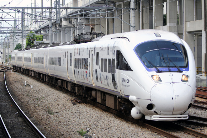 【JR九】885系「福!列車かもめ」運行中
