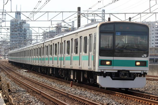 【JR東】209系マト81編成 東京総合車両センター出場